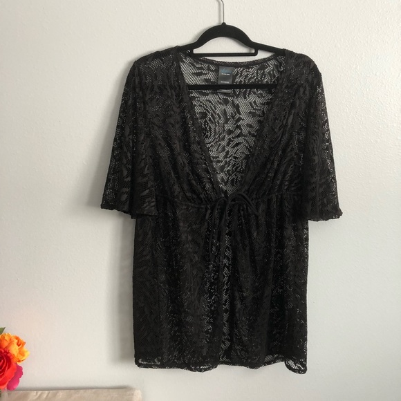 3bde9ce12a Catalina Other - Black Bathing Suit Cover Up